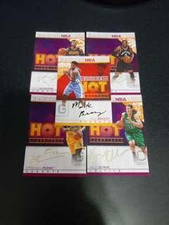 Nba Hot signatures card