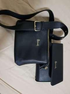🚚 Harrods black bag