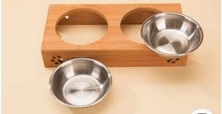 Cat/Dog Stainless Steel Feeding Bowls