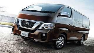 New Nissan NV350 (Guaranteed Registration)