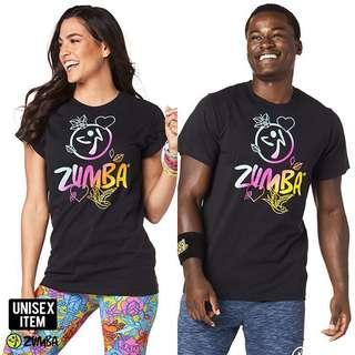 Zumba Unisex Celebrate love Tee