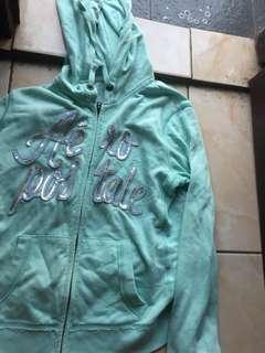 hoodie tosca / mint