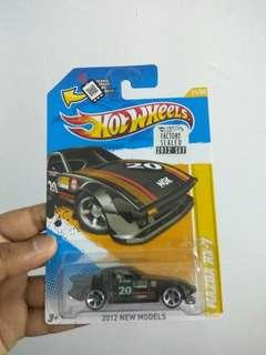 Rx7 savanna hot wheels black factory seal