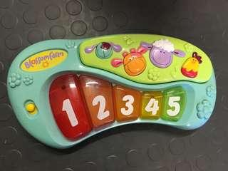 music boards with lights and sounds travel toy