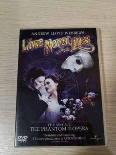 Love Never Dies (by Andrew Lloyd Webber)