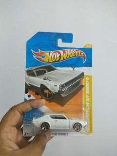 Nissam Skyline 2000 GTR first edition kenmeri hot wheels