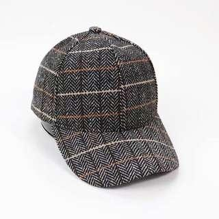 🚚 🐑毛呢棒球帽