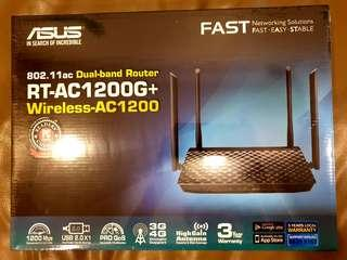 ASUS RT-AC1200G+ Router (BRAND NEW)