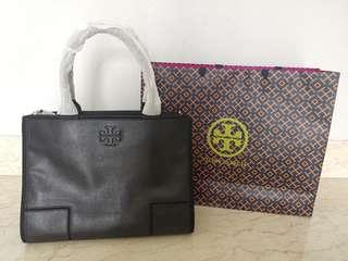 Tory burch leather handbag (BNIB with receipt to prove authenticity)