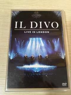 Il Divo - live in London (DVD made in EU)
