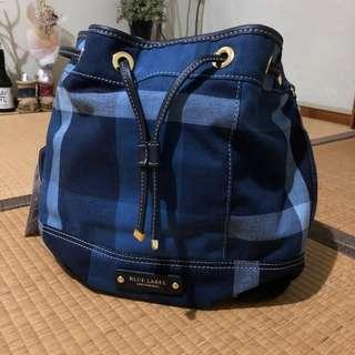 Blue Label Crestbridge bucket bag