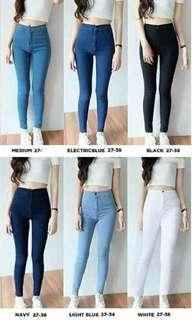 Highwaist Basic Plan Jeans