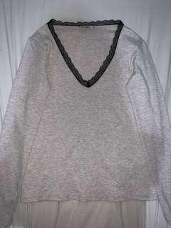 Stradivarius lace sweater