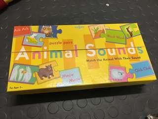 eeBoo animal sounds educational game