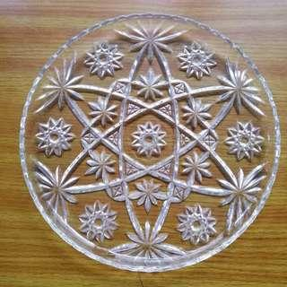 Decorative Glass Plate