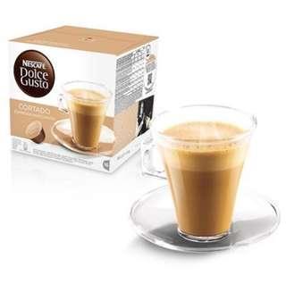 Nescafe Dolce Gusto Capsules :: Cortado Espresso Macchiato