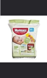 Huggies 濕紙巾 3包一箱