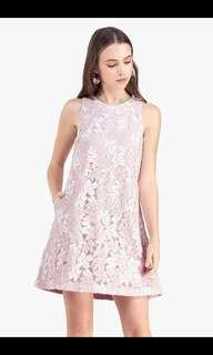 BNWT Fayth Demi shift lace dress