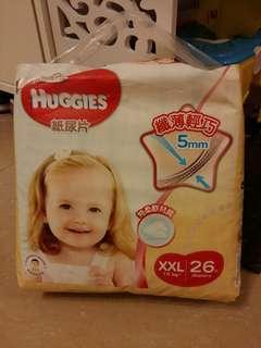 Huggies 紙尿片 XXL 1包 26片