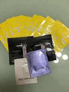 清櫃!Giorgio Armani,Shu uemura,Cellbone samples 13包