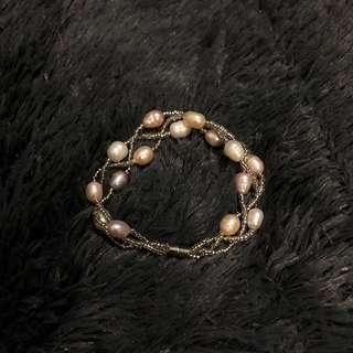 Magnetic Pearl Bracelet