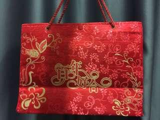 🚚 Chinese cloth bag for wedding