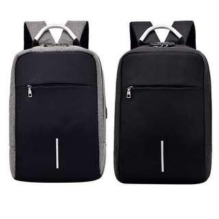 Travel Laptop Backpack with USB cable + code lock