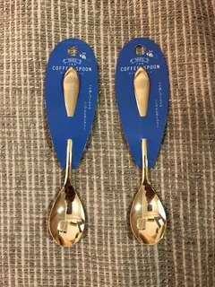 🚚 'Miel' Japanese Goldplated Stainless Coffee Spoons