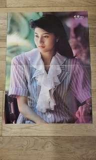 香港小姐 李嘉欣 海報
