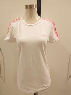 Authentic Adidas white top #SnapEndGame