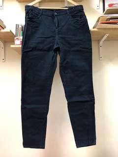 Kinda Navy Kinda Velvet Trousers