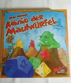 【9.5成新】König der Maulwürfel 高塔競速王 Zoch zum Spielen 新天鵝堡 正版 德國原裝進口 木製 桌遊 絕版出清