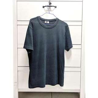 Uniqlo U Crey Neck Short Sleeve T-Shirt in Navy