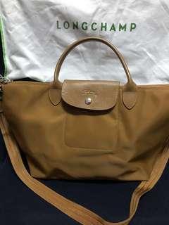 Longchamp Rust Colored Bag