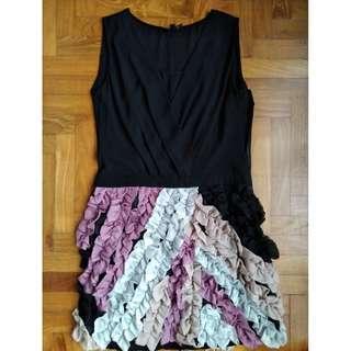 Special Black Silk Dress