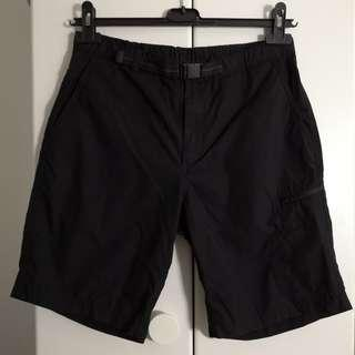 Uniqlo Dry black cotton blend sporty shorts hare asos