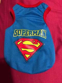 🚚 Superman Dog Clothes