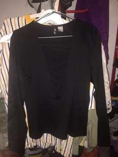 H&M original black tops
