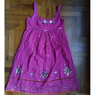 Unique Pink Dress