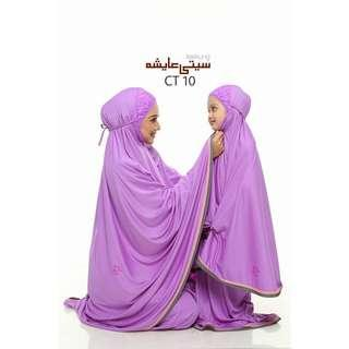 🚚 Prayer veils for Muslim girls/Kids size (Instock)