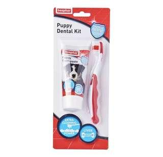 Beaphar toothbrush & toothpaste kit