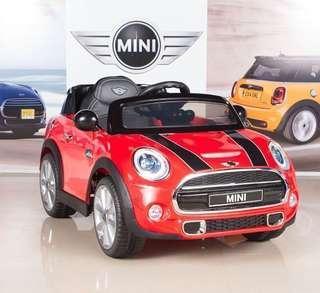 (現貨含運)正版BNW 授權電動車 minicopper 兒童遙控電動車