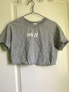 """As If"" Crop Top"