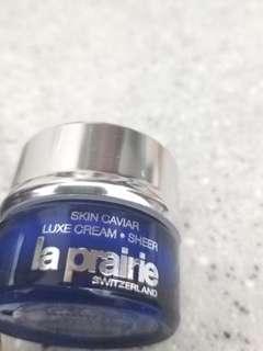 La Prairie luxe cream SHEER 5ml
