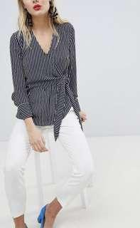 Striped Blouse New with Tags