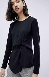 Black Blouse New with Tags