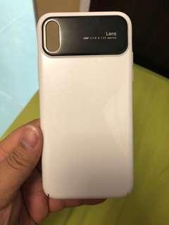 包郵IphoneX 白色電話壳