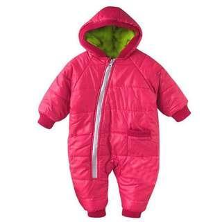 Baby winter bodysuits winter jacket