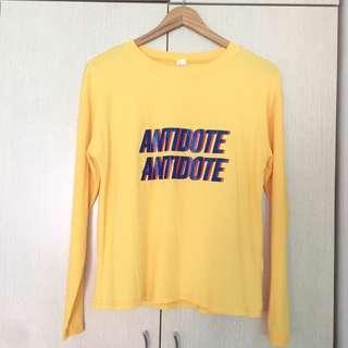 Ulzzang antidote long sleeve