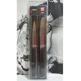*全新 德國 Zwilling 雙人牌 Twin Grip 水果刀 鋸齒刀 二件組 38736-200 蔬果 料理 冷盤